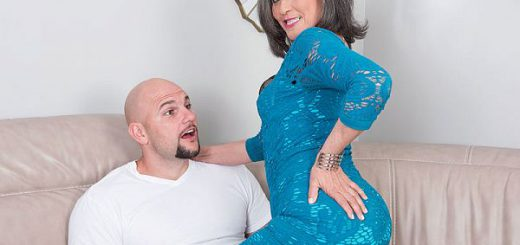 """Something new, something different for Kokie """"I am a go-getter,"""" said Kokie del Coco, a 60-year-old divorcee, mother and grandmother from The Bronx, New York, who's fucking on-camera for the first time. """"I like to break the ice.""""  In this scene, Kokie,..."""