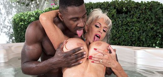 "More big, black cock for super-stacked Sally When we asked super-stacked 63-year-old Sally D'Angelo to tell us one thing about her that would surprise us, she said  she used to be ""very, very shy.""  That's not the case anymore, at least not from what w..."